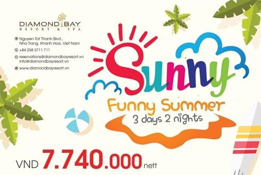 FUNNY SUNNY SUMMER 2019 @VND 7,740,000 nett