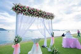 Đám cưới trên bãi biển - 13